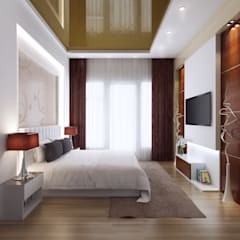 Small bedroom by Space Interface, Minimalist