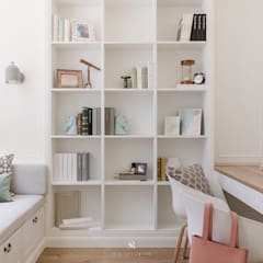 Study/office by 理絲室內設計有限公司 Ris Interior Design Co., Ltd.,