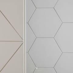 紛染.綿綿 Trochee of Tints:  牆面 by 理絲室內設計有限公司 Ris Interior Design Co., Ltd.