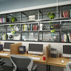Co Working Space Design:  Commercial Spaces by Space Interface