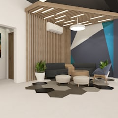 Commercial Spaces by Space Interface, Minimalist