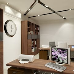 Study/office by Space Interface, Eclectic