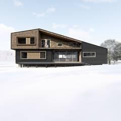 casa rural - Arquitectos en Coyhaiqueが手掛けた一戸建て住宅,