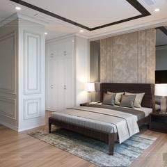 THIẾT KẾ TÂN CỔ ĐIỂN, CĂN HỘ PARK 5 - Nếu mỗi thiết kế là một bản nhạc...:  Phòng ngủ by ICON INTERIOR