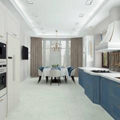 Bếp xây sẵn by ARTWAY центр профессиональных дизайнеров и строителей