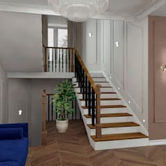 Cầu thang by ARTWAY центр профессиональных дизайнеров и строителей