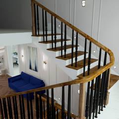 Projekty,  Schody zaprojektowane przez ARTWAY центр профессиональных дизайнеров и строителей