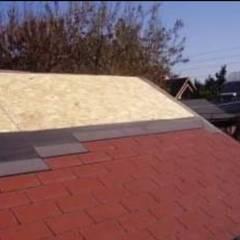 سقف جمالون تنفيذ N&V diseño y construcción
