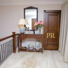 Sai Krishna Enclave Yapral:  Corridor & hallway by Purplerain Design Studio,