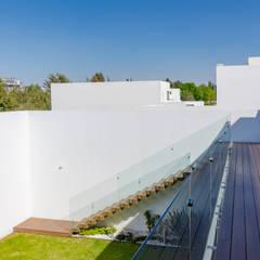 OLIVOS ONCE SEIS: Terrazas de estilo  por GENETICA ARQ STUDIO