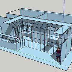 Proyecto PH Balvanera: Pasillos y recibidores de estilo  por OOST / Sabrina Gillio,Clásico