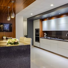 OLIVOS ONCE SEIS: Cocinas equipadas de estilo  por GENETICA ARQ STUDIO