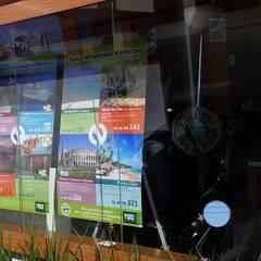 NASCIMENTO TURISMO - SOROCABA, SP: Lojas e imóveis comerciais  por ÉLLI ARQUITETURA,