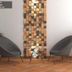 ENCHAPE SOLLIEVO: Espacios comerciales de estilo  por TEJAR DE PESCADERO SAS