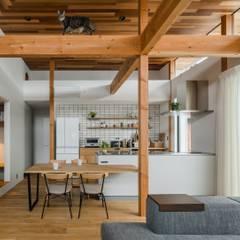 kamikasa house: ALTS DESIGN OFFICEが手掛けたキッチン収納です。