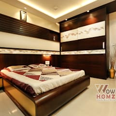 Kleine slaapkamer door Wow Homz, Modern Hout Hout