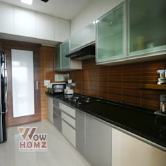 Small kitchens by Wow Homz, Modern Wood Wood effect