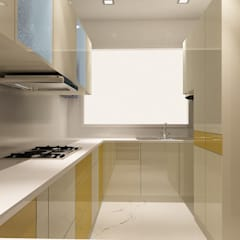 Kitchen by Matter Of Space Pvt. Ltd.,