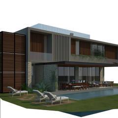 مسبح حديقة تنفيذ Francisco Peña Arquitectura,
