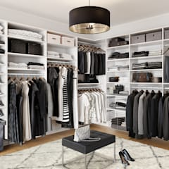 Dressing room by California Closets, Classic