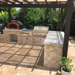 Jardines de estilo  por Dome Ovens®, Mediterráneo