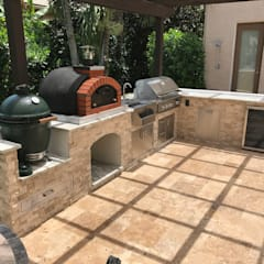 Franco Model - Ideas for outdoor kitchen :  Garden by Dome Ovens®,