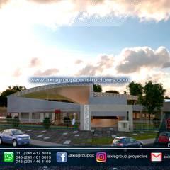 Centro de bienestar y Paz : Casas de estilo  por Axis Group diseño y construcción