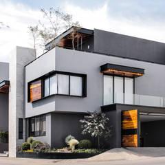 Casa Cactus: Villas de estilo  por LD Arquitectos, Moderno