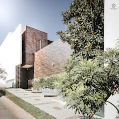 Casa PF-01: Casas ecológicas de estilo  por LD Arquitectos