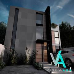 Proyecto Shakespeare  Diseñado por Visum Ark: Casas multifamiliares de estilo  por Visum Ark