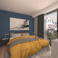Small bedroom by Proyecto 3Catorce,