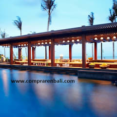 Hotels by comprar en bali, Tropical ٹھوس لکڑی Multicolored
