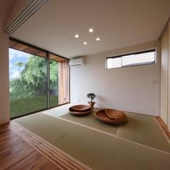 物見台の家: STaD(株式会社鈴木貴博建築設計事務所)が手掛けた和室です。,