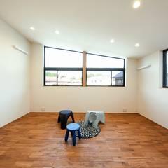園の家: STaD(株式会社鈴木貴博建築設計事務所)が手掛けた子供部屋です。,