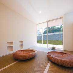 秘蔵の家: STaD(株式会社鈴木貴博建築設計事務所)が手掛けた和室です。,ミニマル
