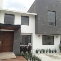 Дома на одну семью в . Автор – AMSR ARQUITECTOS en Málaga, Минимализм Гранит