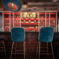 Bars & clubs by Mojo Design Studio, Asian