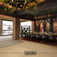 VENKA Yapı – Sedef Restoran:  tarz Koridor ve Hol, Modern