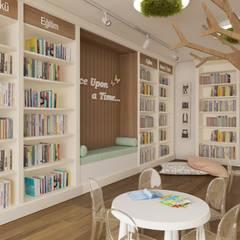 Rengin Mimarlık – Çocuk Kitapevi Tasarımı - Mersin:  tarz Çocuk Odası,