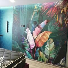 Проект квартиры на ул. Дубовская: Спальни в . Автор – Наталия Широченко,