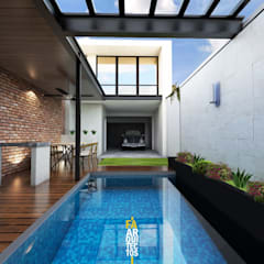 Garden Pool by FA Arquitectos