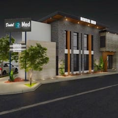 Clinica Dental: Hospitales de estilo  por FA Arquitectos,