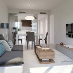 Petites cuisines de style  par Bau Arquitectura Tarragona,
