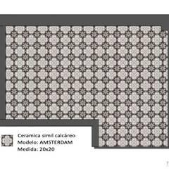 Proyecto Charcas: Cocinas pequeñas de estilo  por Tumburus Lucas - Diseño y Arquitectura Interior,Moderno Cerámico