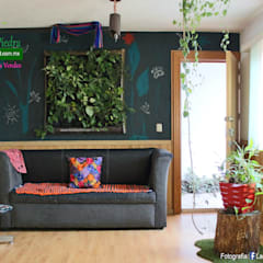 Study/office by Flor de Piedra Jardines Verticales