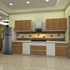 Built-in kitchens by Saraswati Interior