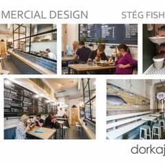 Balcón de estilo  por Dorka Jonas Interiors,