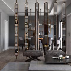 roommoormimarlık – Bahçeşehir  T house :  tarz Oturma Odası,