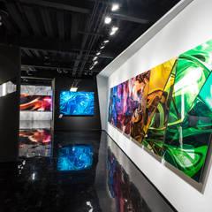 Galería Katz / Masaryk: Estudios y oficinas de estilo  por NATALIA MENACHE ARQUITECTURA