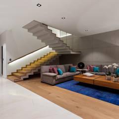 Stairs by NATALIA MENACHE ARQUITECTURA, Minimalist Concrete